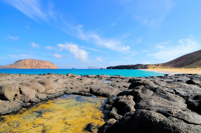 Playa de Las Conchas - La Graciosa - Canary Islands