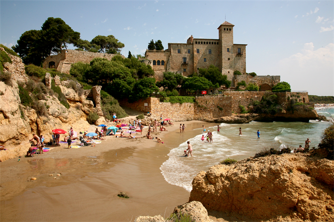 10 Tempting Tarragona Beaches Guide Images Map Spain