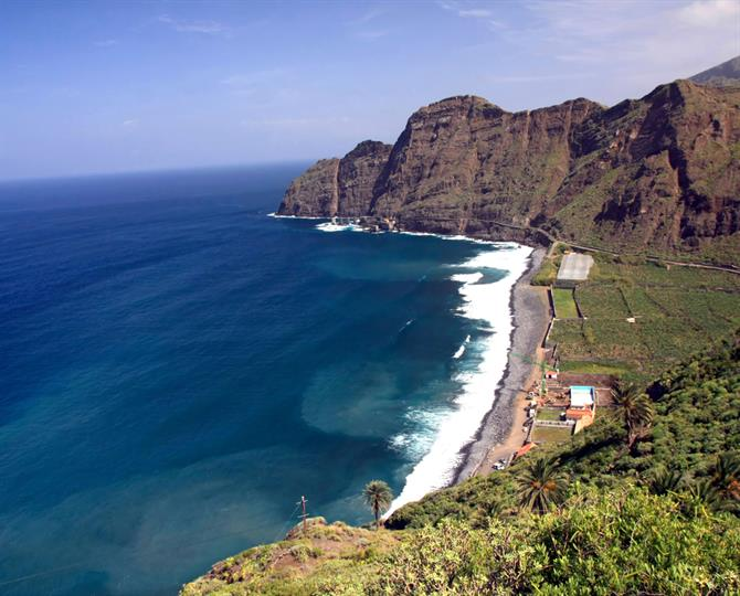 Best Beaches in Canary Islands - Playa de Hermigua (La Gomera)