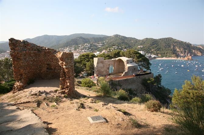 Remains of the old church Sant Vicenç