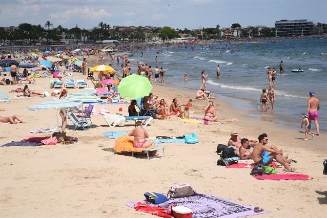 Beach in Cambrils