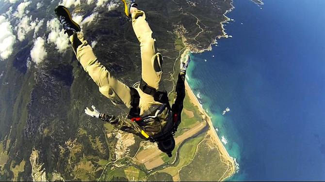 Sky diving, Empuriabrava - Costa Brava (Espagne)