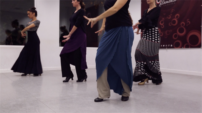 Flamenco Shoes and Dance, Estudio Flamenco