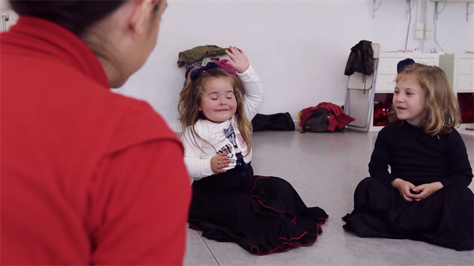 Flamenco Dances Classes for Children, Estudio Flamenco
