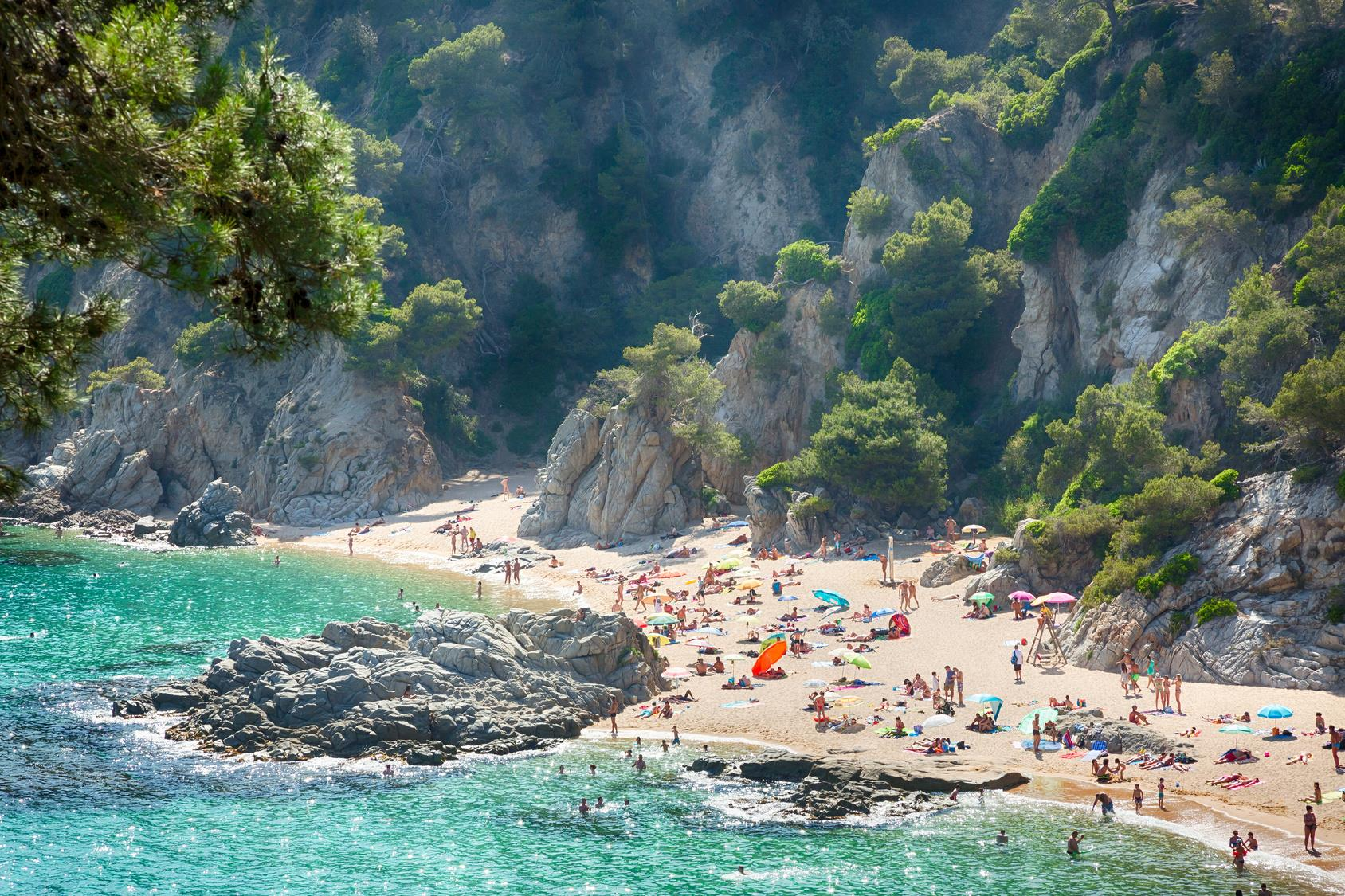 Hidden Beaches Near Nerja