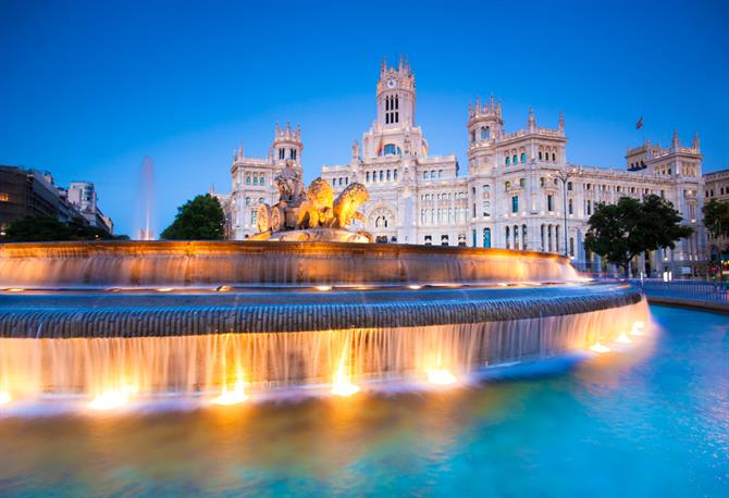 Madrid - Plaza Cibeles