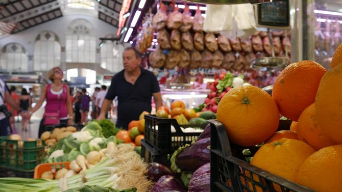 Local Fruits and Vegetables - Valencia Central Market