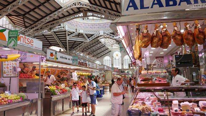 Jambon & local products - Valencia Central Market
