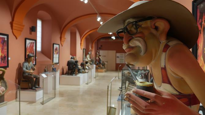 "Das ""Fallas-Museum"" in Valencia, August 2017"