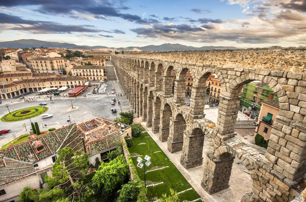 step back in time with the top ten roman sites in spain