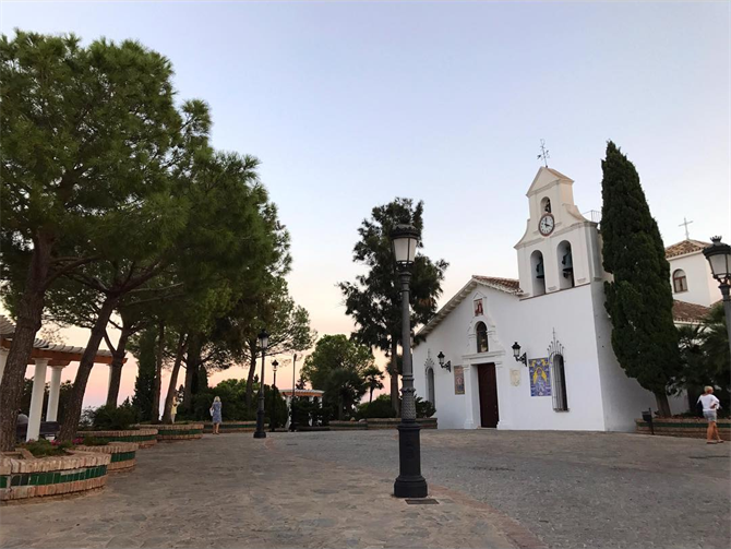 Benalmadena Pueblo church