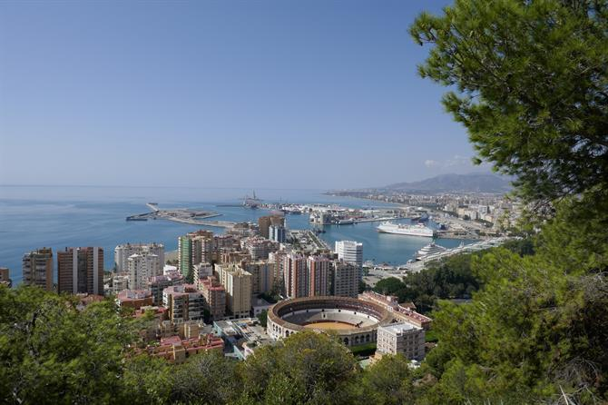 Gibralfaro Viewpoint, Malaga City