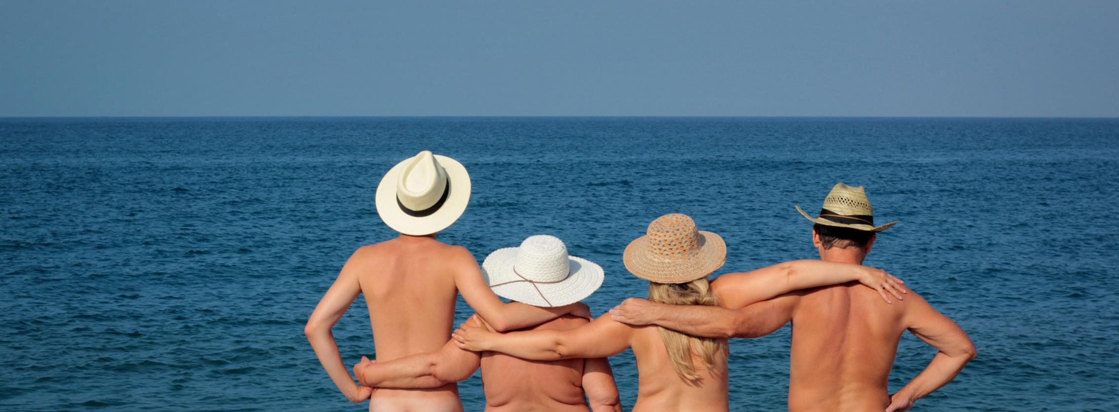 adults fun nudist beach