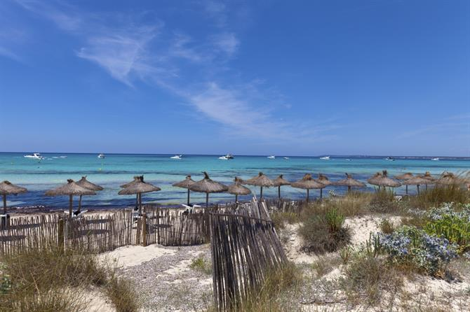 Es Trenc Nudist Beach, Mallorca