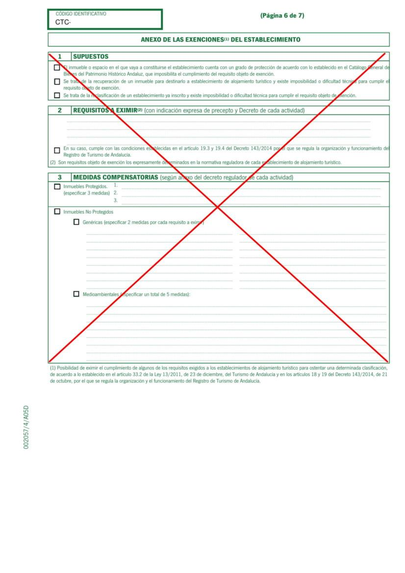 Holiday Rental Application Form Andalucia pg 6