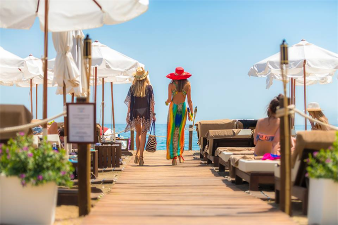 Amare beach club Marbella
