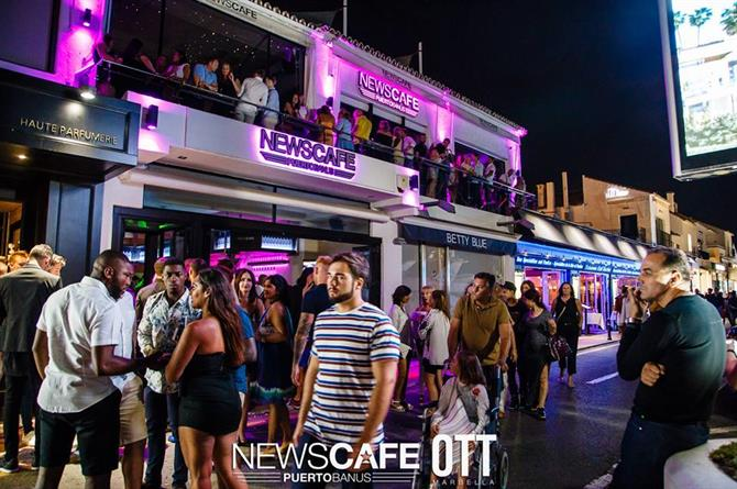 News Cafe Marbella
