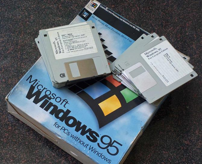 Windows 95 installation