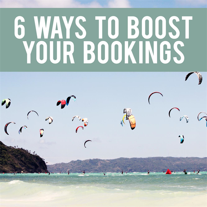 6 Ways to Boost Your Bookings