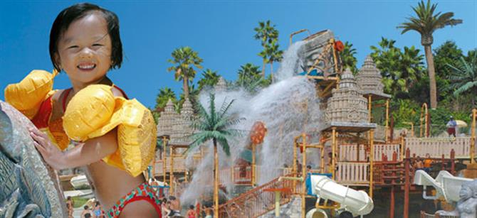 Tenerife - Siam Park  - The Lost City