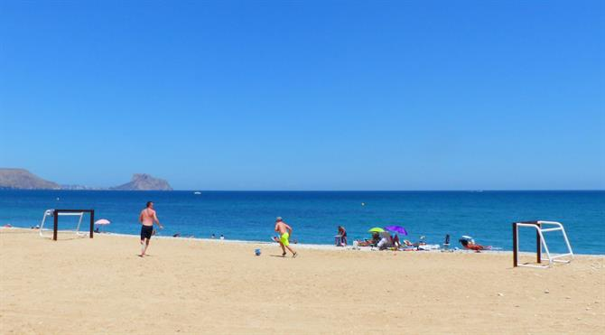 Playa de Cap Blanch, Altea - Costa Blanca (Espagne)