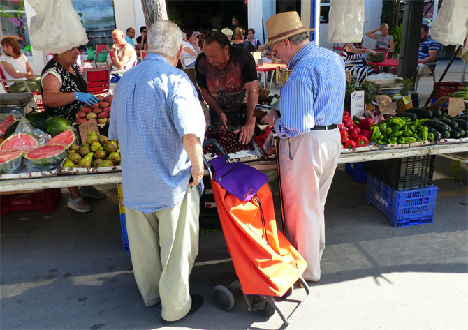Altea Fruit and Veg Market