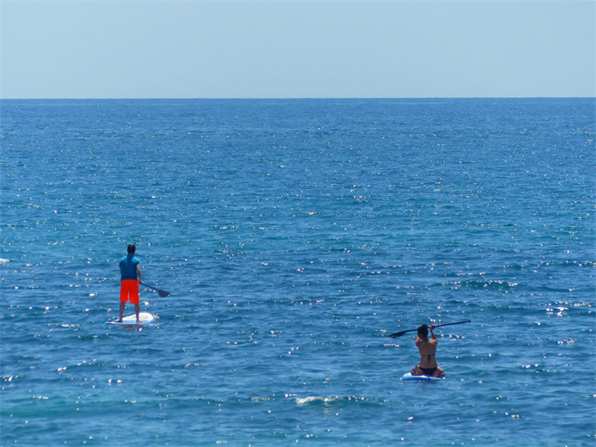 Paddle Boarding à Altea, Alicante - Costa Blanca (Espagne)