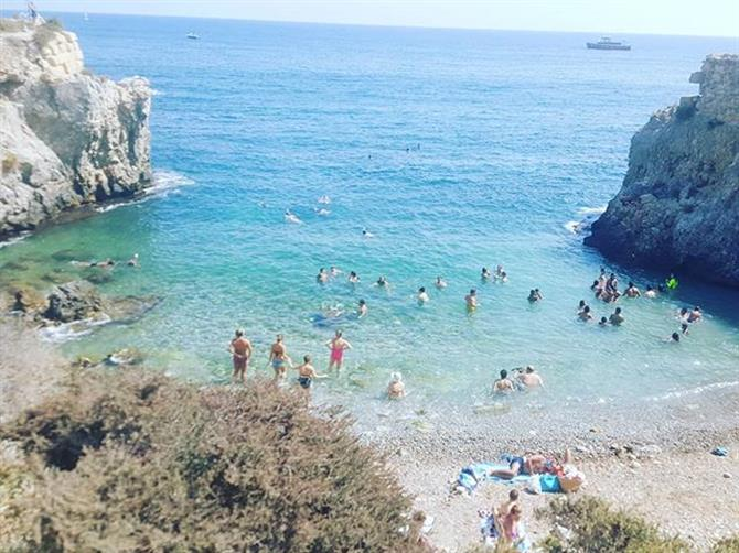 Bugt ved Isla Tabarca