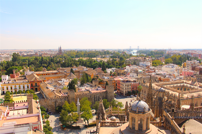 View from Cathedral, Sevilla