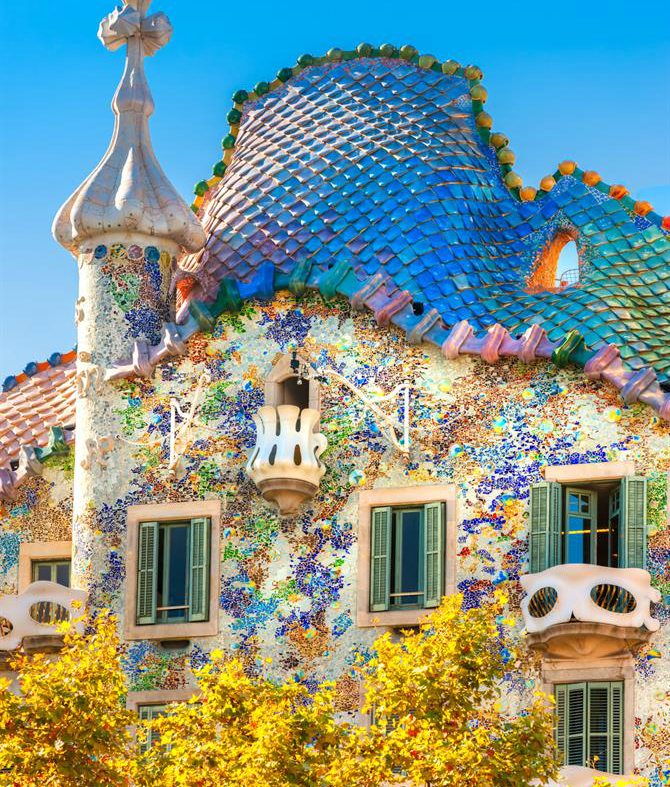 Casa Battlo, Barcelona