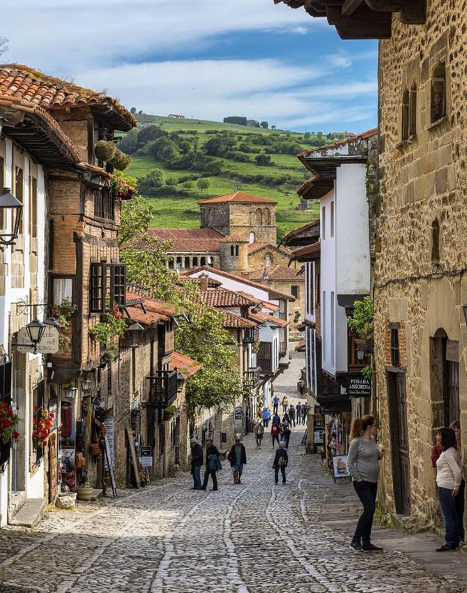 Santillana del Mar - one of Spain's most beautiful villages