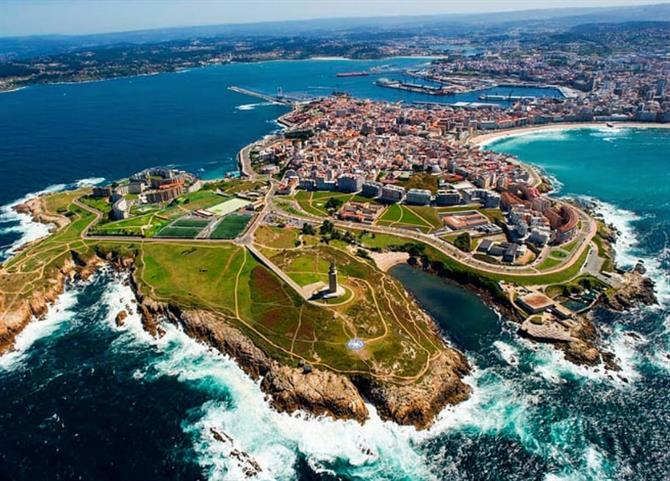 Discover the buzzing city of La Coruña