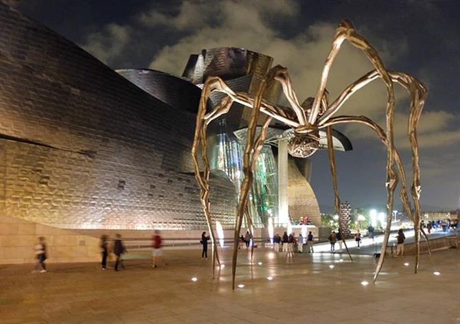 The Guggenheim Museum is a must-visit attraction in Bilbao