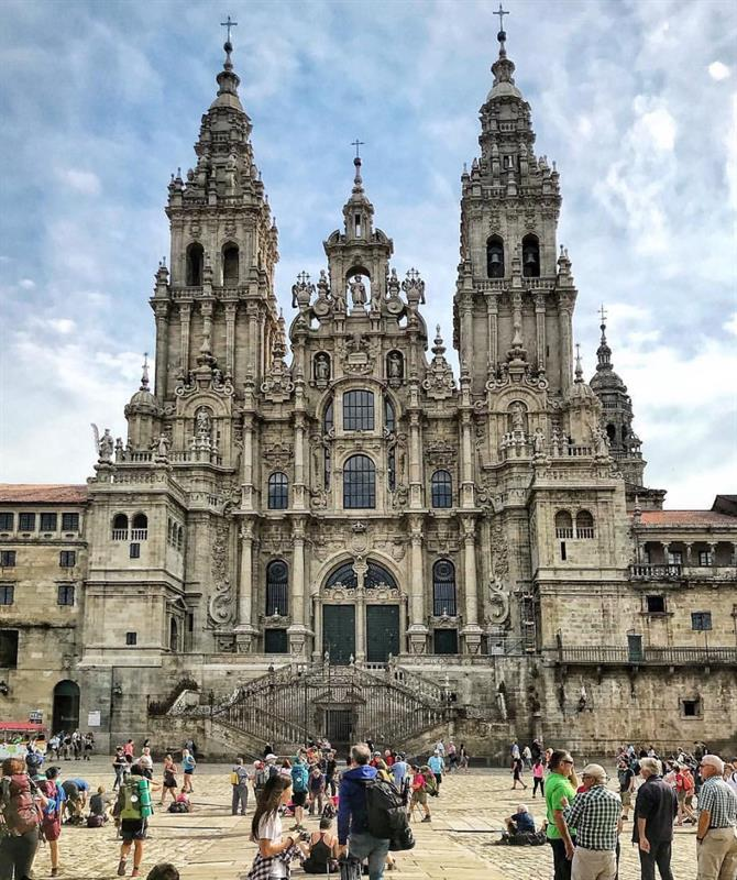 The Cathedral, Santiago of Compostela