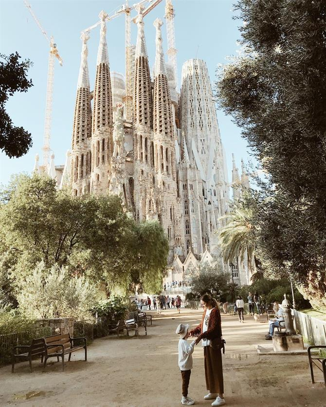 Barcelona with children