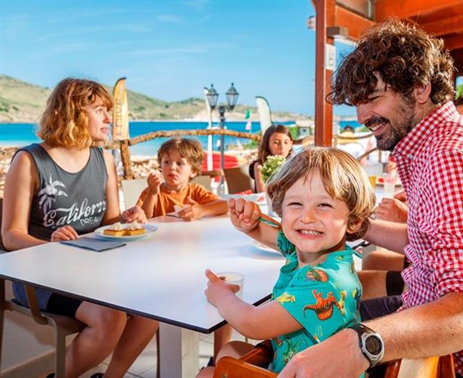 Menorca for families