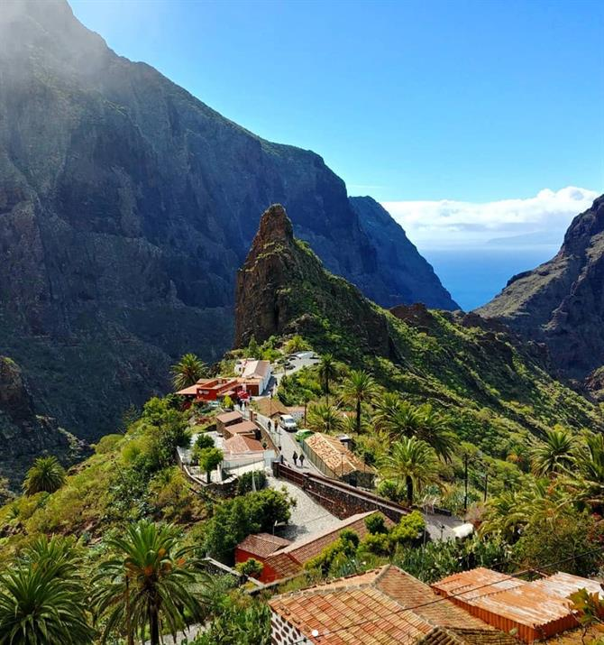 Caserío in Masca and Macizo de Teno, Tenerife
