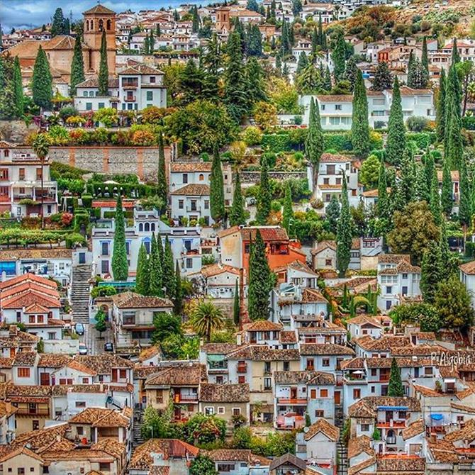 Albaicin Neighbourhood, Granada