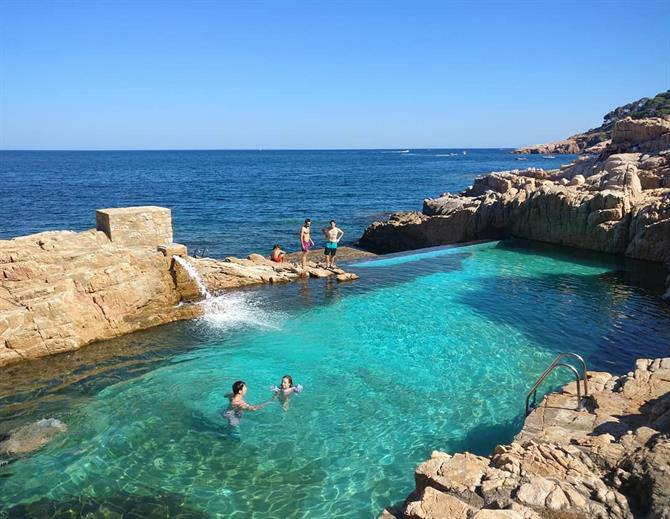 Piscina natural, Cala Fornells