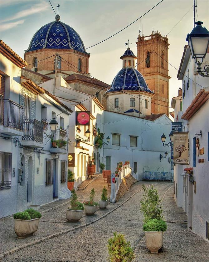 Altea's historic centre