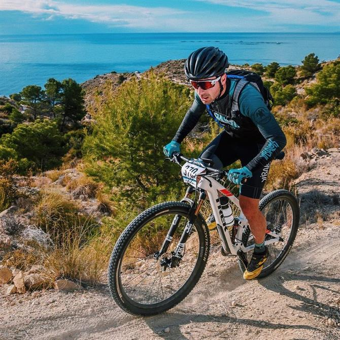 Mountain bike en Alicante