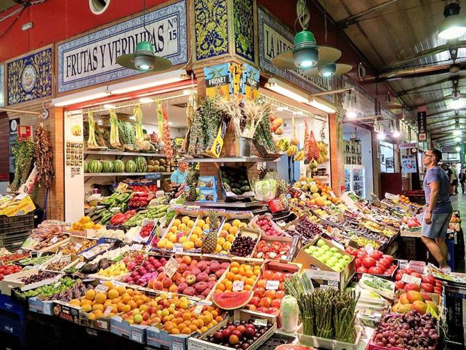 Mercado de Triana in Seville