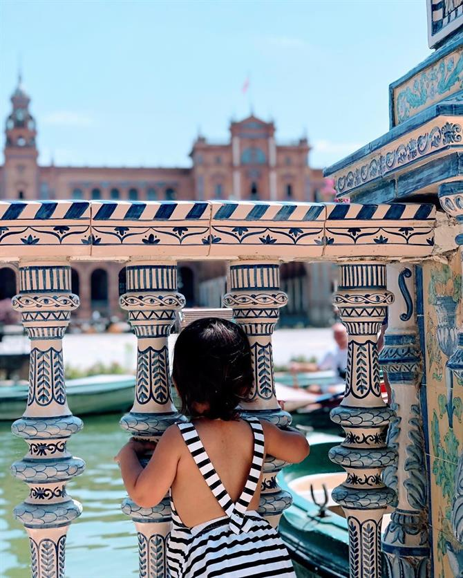 Family holiday in Seville