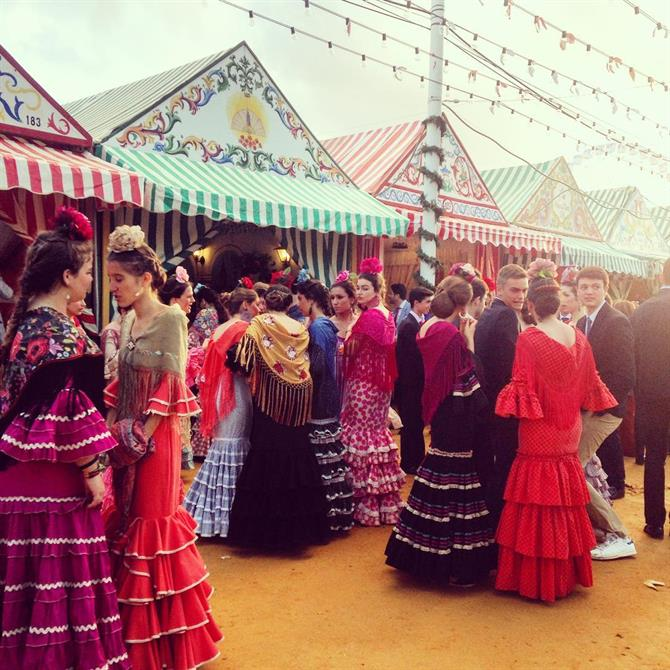 Feria de Abril in Seville