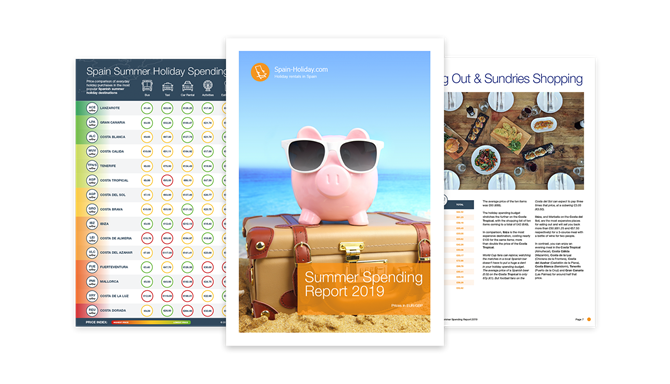 Travel Trends Report - Summer Spending 2019 triptico header image