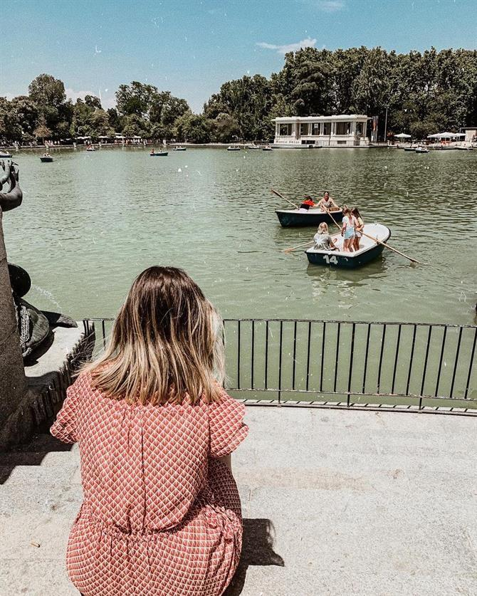 El Retiro and Gardens in Madrid