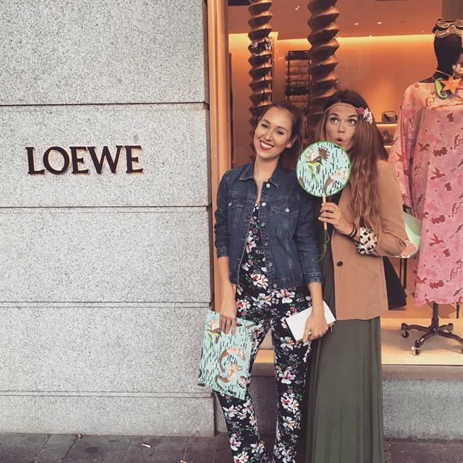 Loewe on Calle Serrano in Madrid