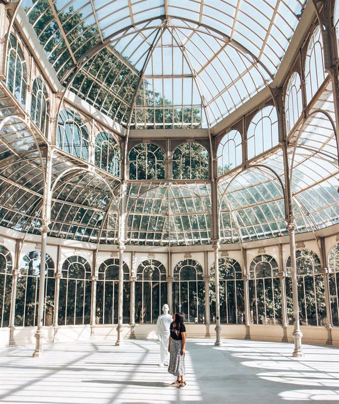 Crystal Palace. Retiro Park, Madrid