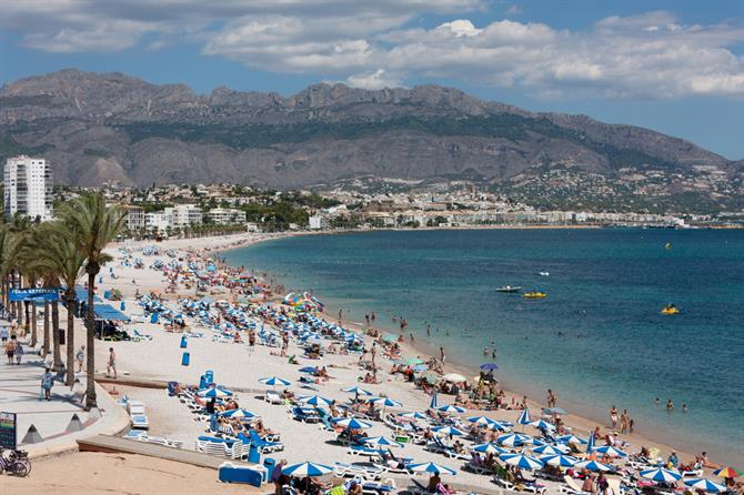 Playa del Albir in Altea