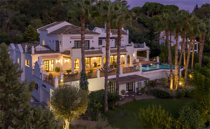 Luxury villa in Marbella
